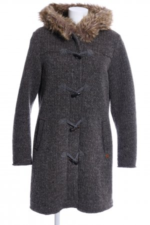 CMP Hooded Coat light grey-brown flecked casual look