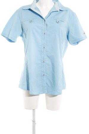 CMP Short Sleeve Shirt light blue casual look