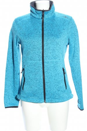CMP Outdoor Jacket blue-turquoise flecked casual look