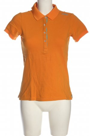 CMP Polo arancione chiaro stile casual