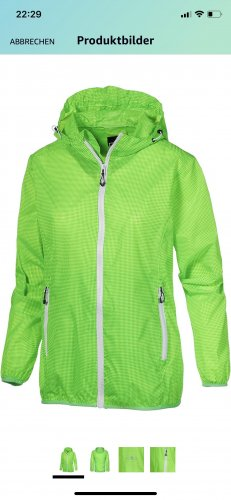 CMP Raincoat neon green-green