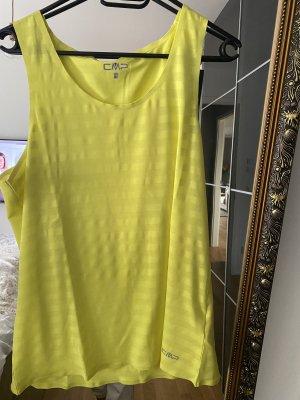 CMP Shirt 46 gelb XXXL Muskelshirt Oberteil fitness gym yoga