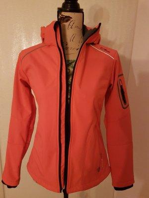 CMP Jacket neon orange-salmon