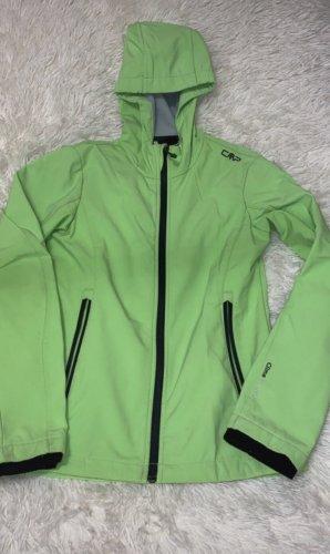 CMP Kurtka softshell zielony neonowy