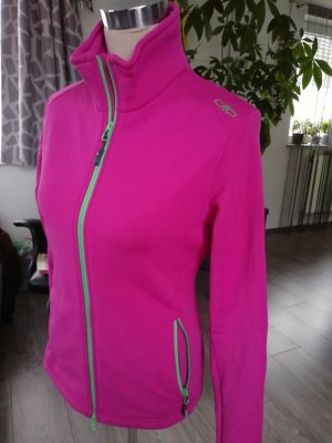 CMP Softshell Jacket magenta-neon green