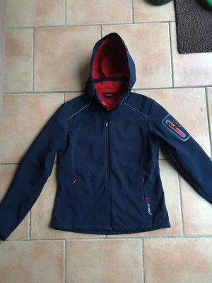 CMP Softshell Jacket dark blue-blue