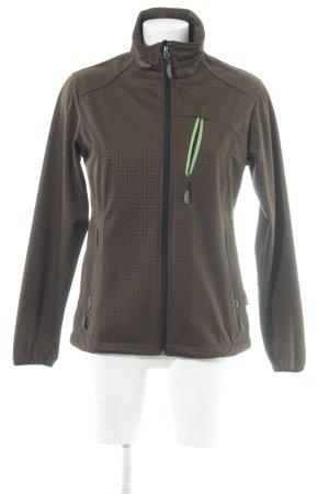 CMP Softshell Jacket dark brown athletic style