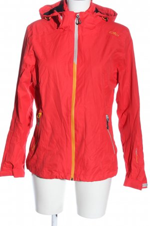 CMP Giacca sport rosso stile casual