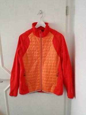 CMP sportliche Damen-Jacke / Gr. 42 / orange, rot / *NEU* - NP 79,95€