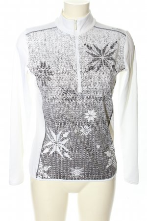 CMP Sports Shirt white-light grey allover print casual look