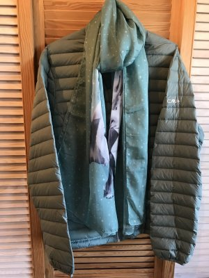 CMP Quilted Jacket pale blue
