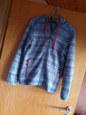 CMP Sweat Jacket red-steel blue