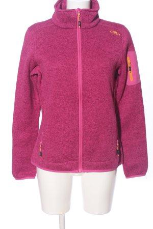 CMP Fleece Jackets pink flecked casual look