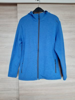 CMP Softshell Jacket neon blue