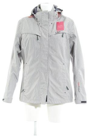 CMP Windbreaker white-light grey check pattern athletic style
