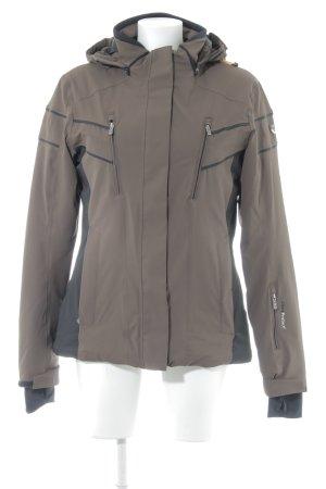CMP Winter Jacket brown-black urban style