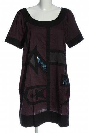 cnb fashion for women Kurzarmkleid lila Casual-Look