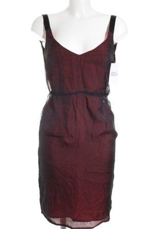 CNC Minikleid rot-schwarz Elegant