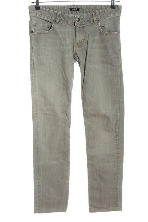 CNC Straight Leg Jeans light grey casual look