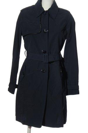 CNC Between-Seasons-Coat blue casual look