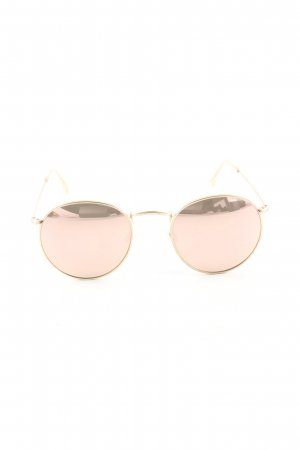 CO Optical runde Sonnenbrille pink Casual-Look