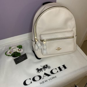 Coach Kindergarden Backpack white