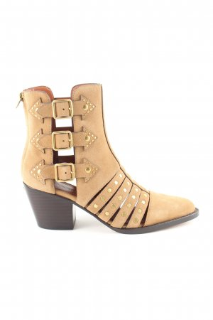 Coach Ankle Boots wollweiß Casual-Look