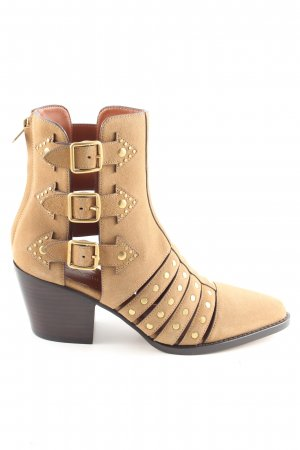 Coach Ankle Boots nude-hellorange Casual-Look