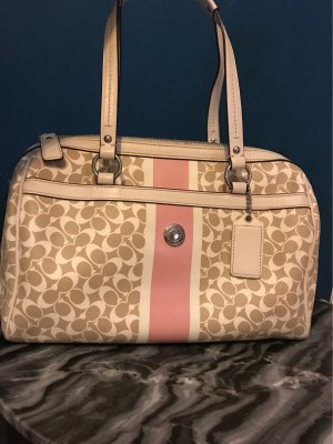 Coach Bowling Bag multicolored leather