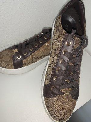 Coach Lace-Up Sneaker light brown-dark brown