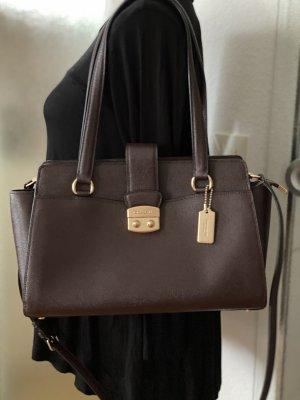 Coach Crossgrain Avary Carryall brown Tasche