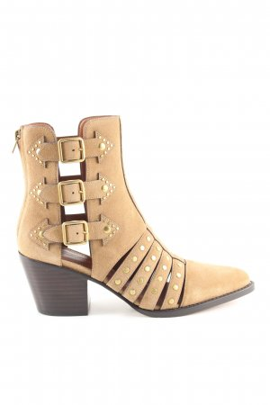 Coach Cut-Out-Stiefeletten creme Casual-Look