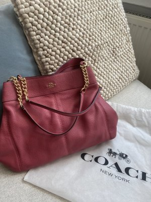 Coach Shoulder Bag multicolored leather