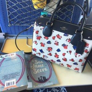 Coach floral print crossbody Tasche/Handtasche