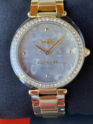 Coach Analog Watch gold-colored