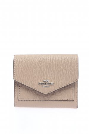"Coach Geldbörse ""Crossgrain Leather Small Wallet"" creme"