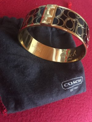 Coach Bangle black-gold-colored