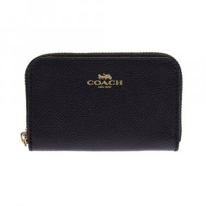 Coach Wallet black textile fiber