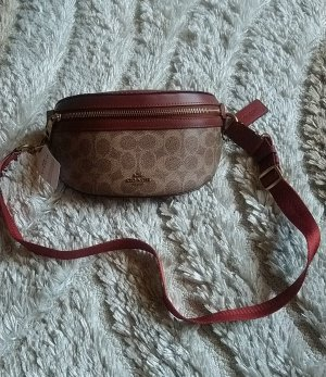 Coach Bumbag light brown-brown leather