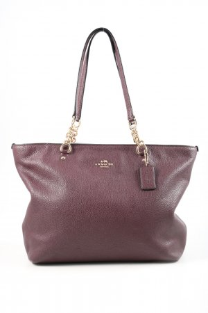 Coach Schultertasche rot Casual-Look
