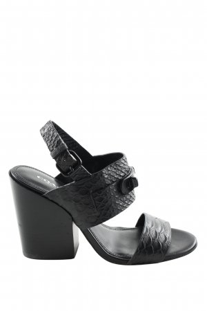 Coach High Heel Sandal black elegant