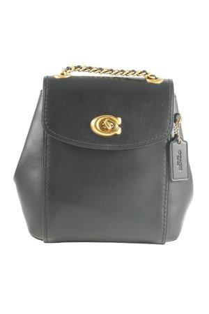 Coach Mini sac à dos noir style décontracté
