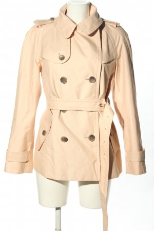Coach Short Coat cream casual look