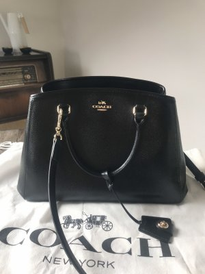 Coach Handbag black-gold-colored