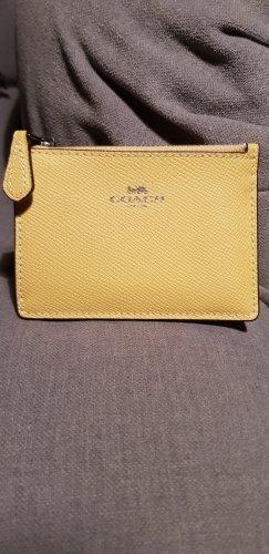 Coach Card Case yellow