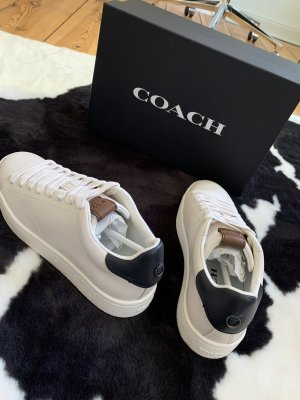 Coach Lace-Up Sneaker white-dark blue