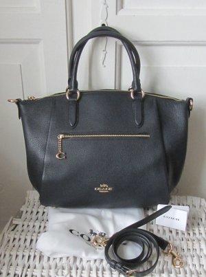 Coach Crossbody bag dark blue leather