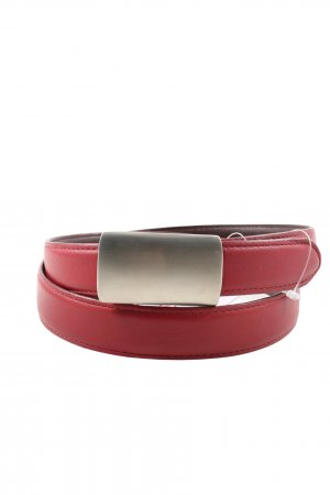 Coach Leather Belt red casual look