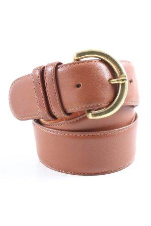 Coach Cintura di pelle marrone stile professionale