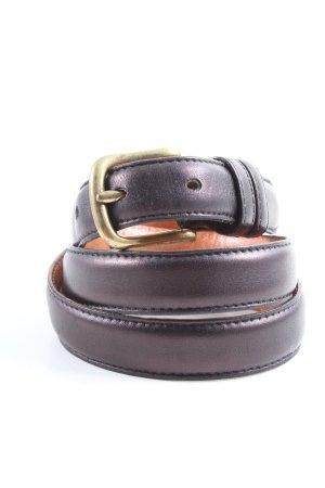 Coach Cinturón de cuero lila estilo «business»